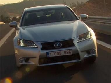 Vídeo: Lexus GS 300h 2013