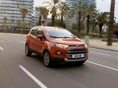 El Ford EcoSport, en movimiento