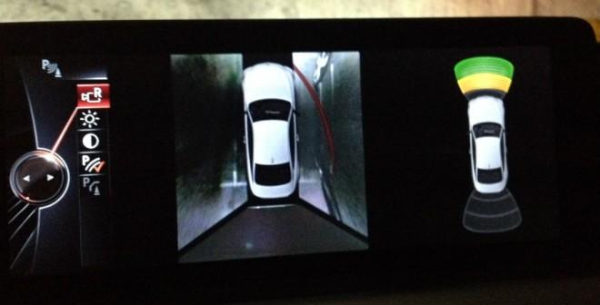 La cámara de visión de 360º ofrece una imagen que recuerda más a la de un videojuego que a la realidad.