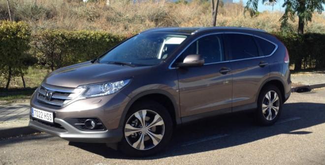 La versión del Honda CR-V que hemos probado cuenta con el motor diésel de 2,2 litros y 150 CV de la marca nipona.
