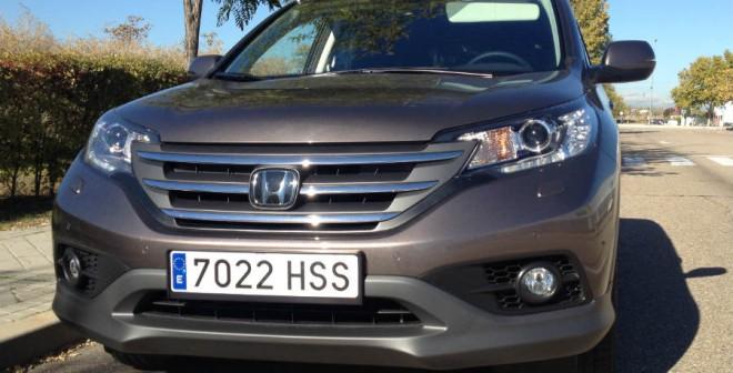 El frontal del Honda CR-V es mucho más deportivo que el de la generación anterior.