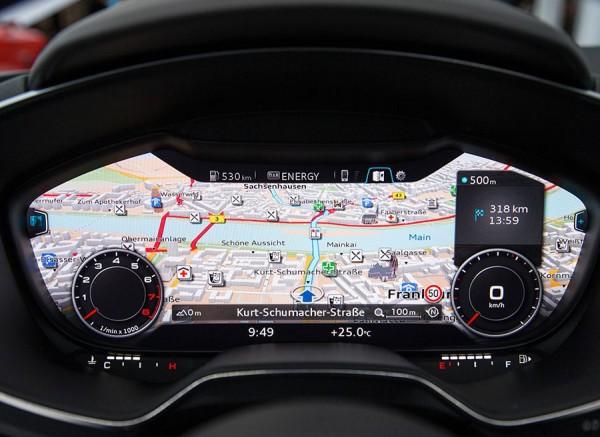 Interior Audi TT CES Las Vegas 2014