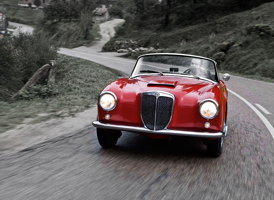 Lancia Aurelia B24 cabrio
