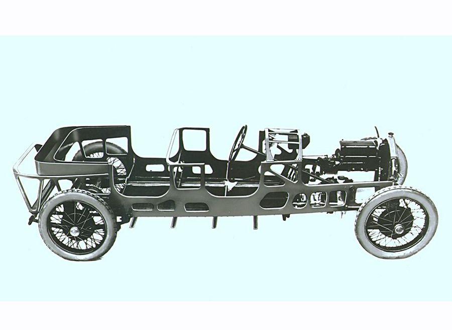 Lancia Lambda autoportante