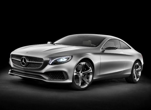 El Mercedes Clase S Coupé Concept mezcla a la perfección elegancia y deportividad.