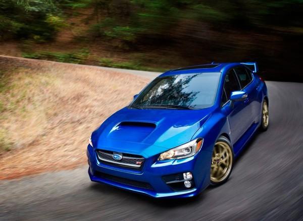 Nuevo Subaru WRX STI 2014 en el Salón Detroit