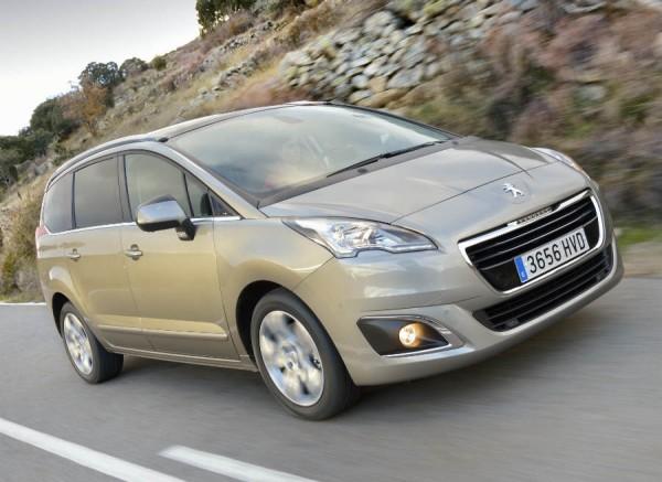 El Peugeot 5008 ha sido el segundo monovolumen de siete plazas más vendido de 2013.