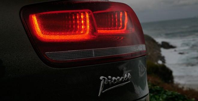 Prueba Citroën C4 Picasso e-HDi ETG-6 2013, pilotos 3D, Rubén Fidalgo