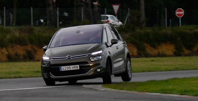 Prueba Citroën C4 Picasso e-HDi ETG-6 2013, A Pastoriza, Rubén Fidalgo