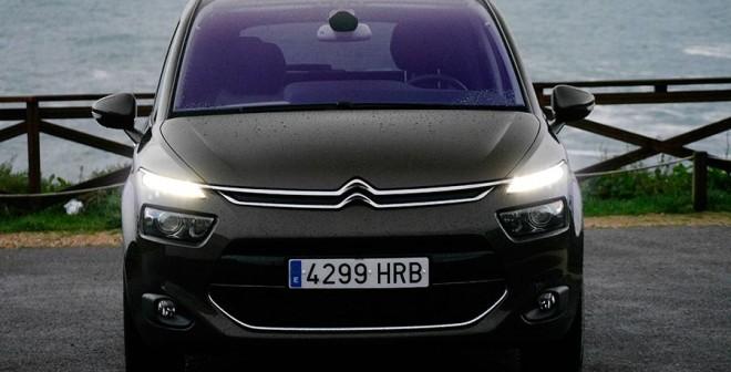 Prueba Citroën C4 Picasso e-HDi ETG-6 2013, Baiona, Rubén Fidalgo