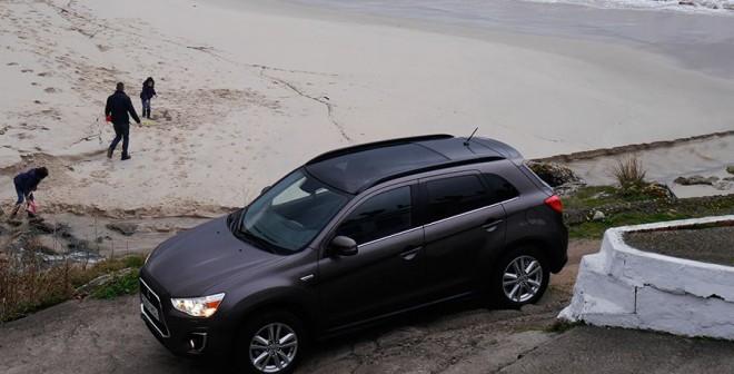 Prueba Mitsubishi ASX 220 DI-D Kaiteki 2013 150 CV automático AWD, Saiáns, Rubén Fidalgo