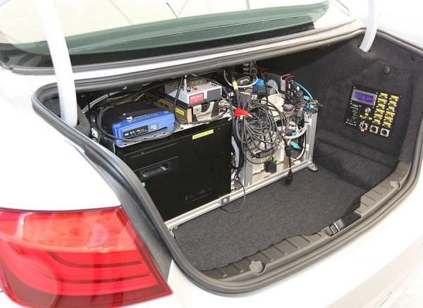 Sistema Lane Assist BMW, equipo informático