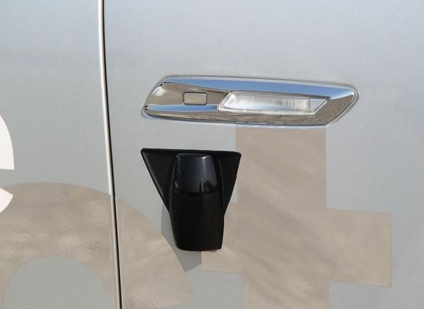 Sistema Lane Assist BMW, cámara lateral.