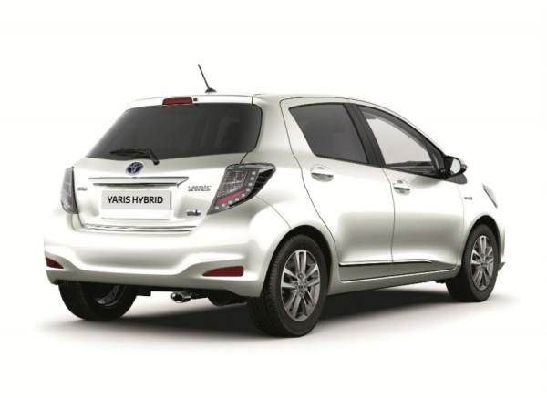 El Toyota Yaris híbrido también recibe diversas mejoras de equipamiento.