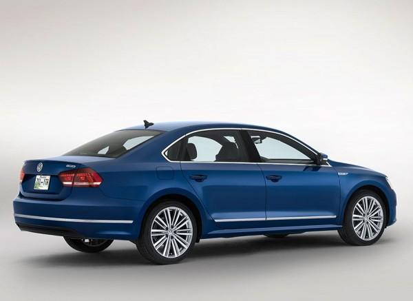 VW Passat BluemotionX Concept Detroit 2014