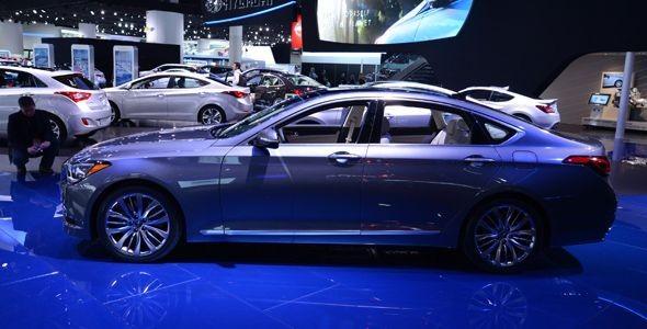 Hyundai Genesis 2014, presentado en Detroit