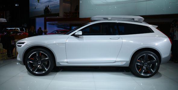 Volvo XC Coupé Concept, prototipo presentado en Detroit 2014