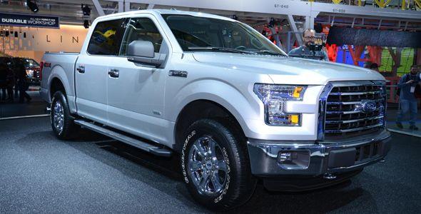 El nuevo Ford F-150 se presenta en Detroit 2014 con carrocería de aluminio