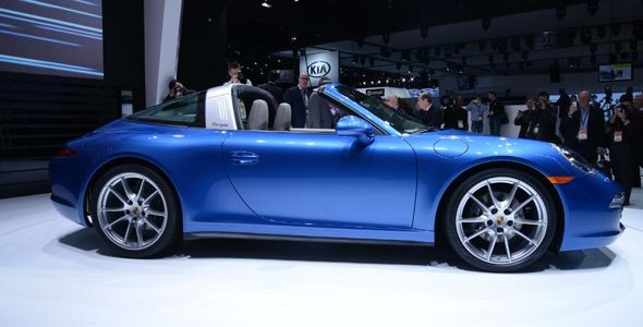 El nuevo Porsche 911 Targa 4 llega en mayo por 125.973 euros