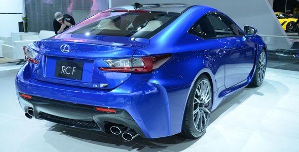 Lexus RC F: primicia mundial en Detroit 2014