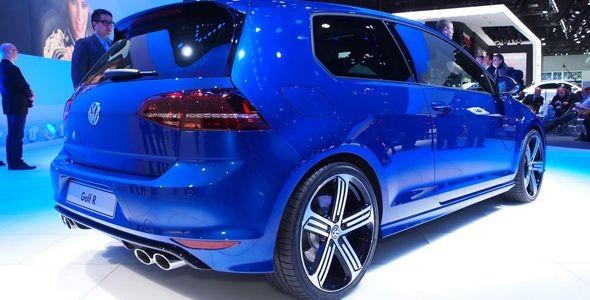 Volkswagen Golf R y Passat BluemotionX Concept, en el Salón de Detroit 2014