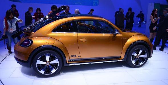 El VW Beetle Dune Concept, en Detroit 2014