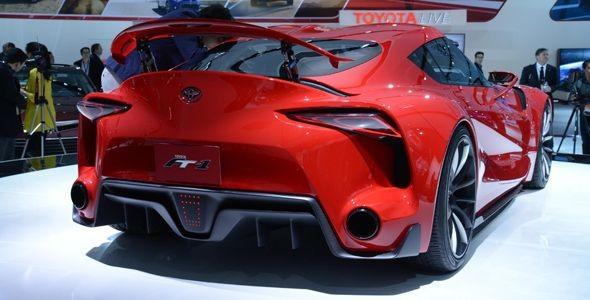 Toyota FT-1 Concept: prototipo deportivo en Detroit