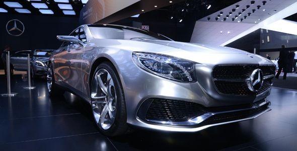 Mercedes S 600 y Mercedes Clase S Coupé Concept, presentados en Detroit