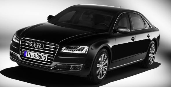Audi A8 L Security, a prueba de bombas
