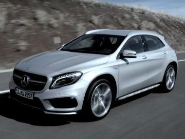 Así es el Mercedes GLA 45 AMG en movimiento