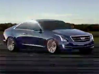 El nuevo Cadillac ATS Coupé 2014, en vídeo
