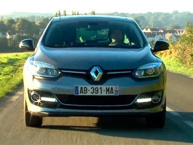 El Renault Mégane 2014, en movimiento