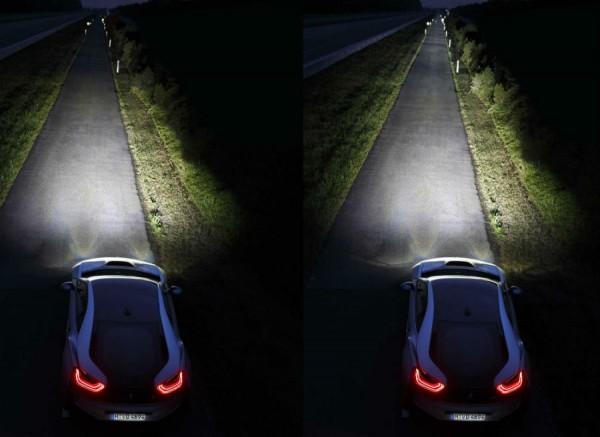 Los beneficios de la tecnología láser de BMW saltan a la vista.