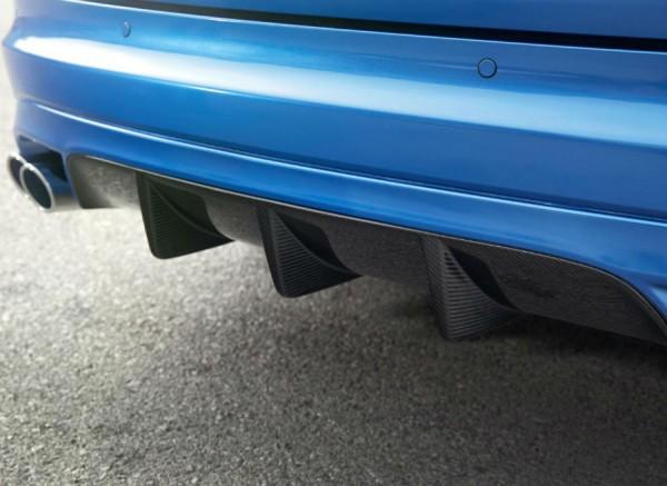 El difusor trasero es una de las señas de identidad del Jaguar XFR-S Sportbrake.