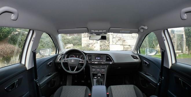 Prueba Seat León ST 1.4 TSI 140 CV Style 2013, interior , Rubén Fidalgo