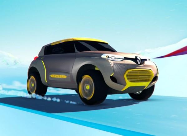 El Renault Kwid Concept se presenta en el Salón de Nueva Dehli.