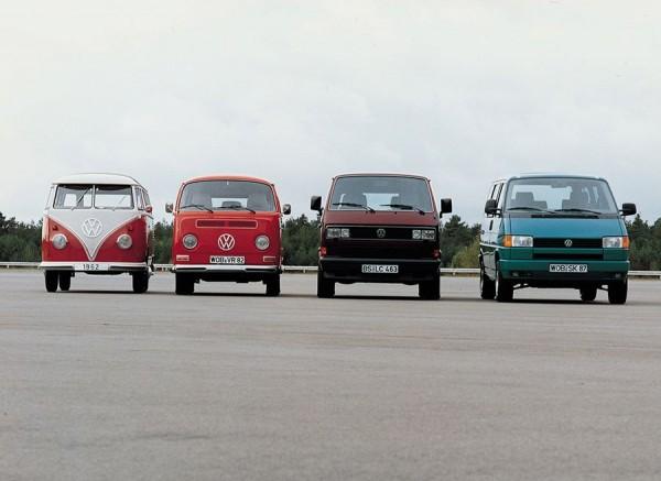 VW T1, T2, T3 y T4