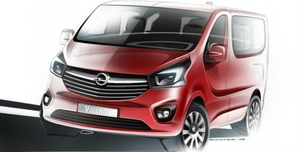 Opel Vivaro, primera imagen