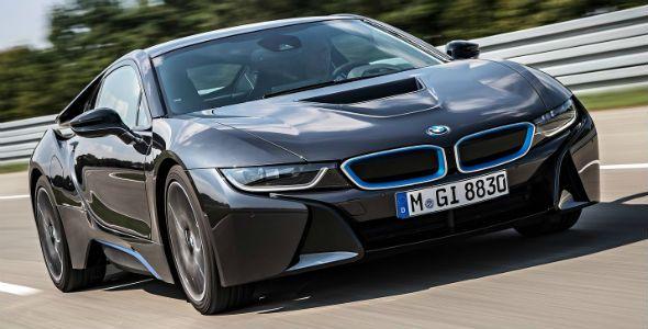 BMW i8, con nueva tecnología de iluminación láser