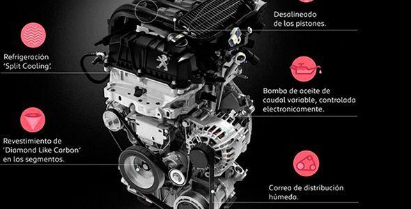 Los motores de gasolina PureTech de Peugeot reducen un 25% el consumo