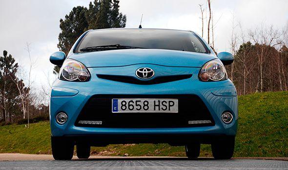 Prueba del Toyota Aygo 1.0 VVT i-Live 2012