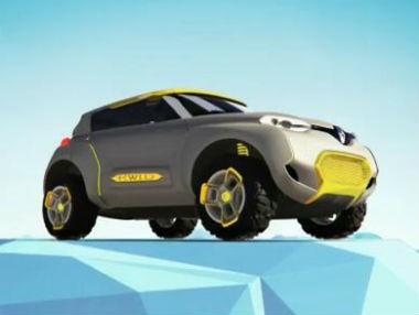 Renault Kwid Concept, el prototipo en movimiento