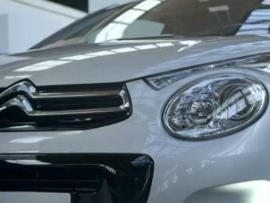 El nuevo Citroën C1, en movimiento