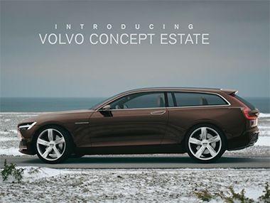 Así es el Volvo Estate Concept presentado en Ginebra 2014