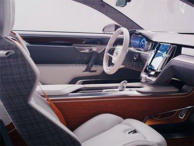 El interior del Volvo Concept Estate en vídeo