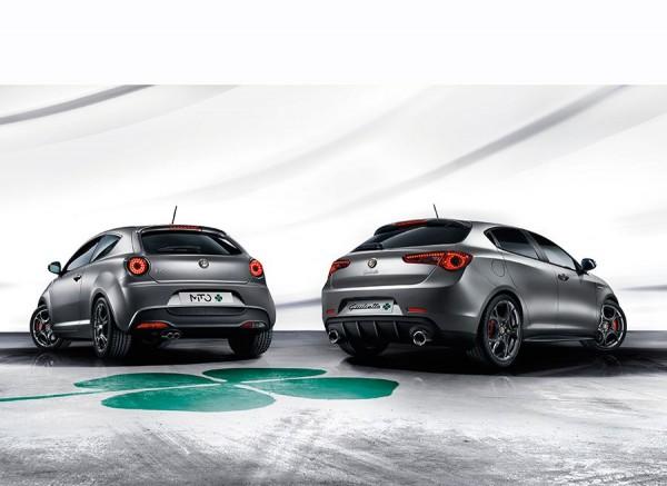 Alfa Romeo Mito & Giulietta Quadrifoglio Verde Ginebra 2014