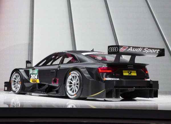 El nuevo Audi RS 5 DTM tiene la labor de igualar el rendimiento de su predecesor, campeón en 2013.
