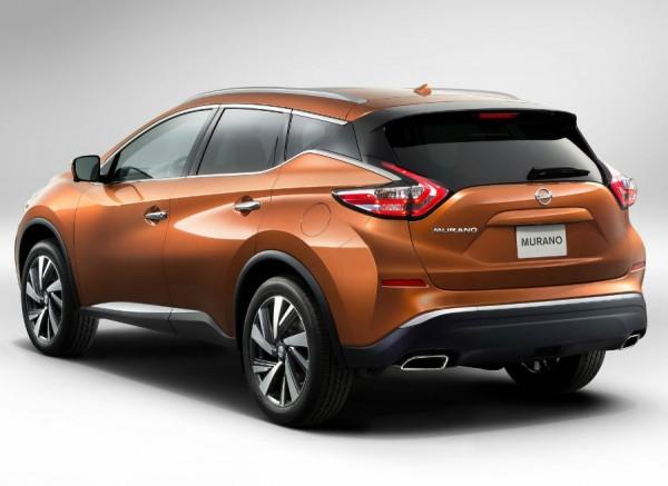 Ángulos pronunciados y unos grandes pasos de rueda son las señas de identidad de la zaga del nuevo Nissan Murano.