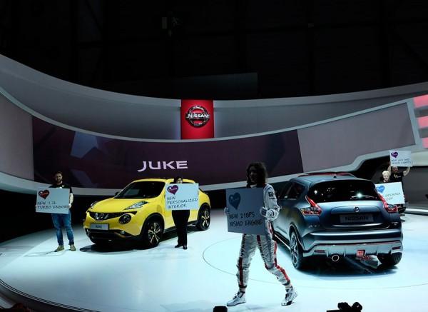Nuevo Nissan Juke Nismo RS Ginebra 2014