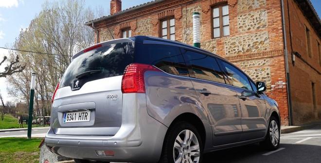 Prueba Peugeot 5008 1.6 e-HDi 115 CV ETG6 automático, Villabalter, Rubén Fidalgo